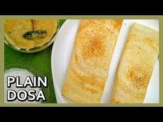 Quick Plain Dosa Recipe | How to make Dosa Batter | South Indian Dishes by Healthy Kadai\nhttps://youtube.com/watch?v=b8ALqY2ewoA