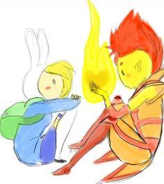 Fionna x Flame Prince