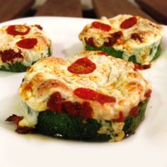 Zucchini Pizza Poppers - Mind Over Munch
