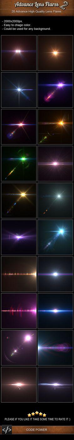 Advance Lens Flares 2 by khaledzz9 on DeviantArt