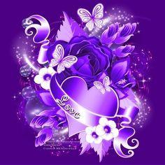 Purple Candy, Purple Love, All Things Purple, Purple Rain, Shades Of Purple, Purple Stuff, Butterfly Wallpaper, Heart Wallpaper, Love Wallpaper
