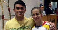 Jossimar Calvo y Catalina Escobar