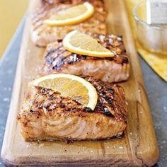 Plank Roasted Copper River King Salmon