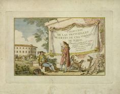"""A. Carnicero. """"Colección de las principales suertes de una corrida de toros"""" (1790)"""