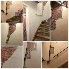Tagesaufgabe Erfullt Treppenhaus Rollputz Treppe Renovieren Sanieren Industrialstyle Industrialdesign Wohnkonfe Treppe Renovieren Treppe Renovieren
