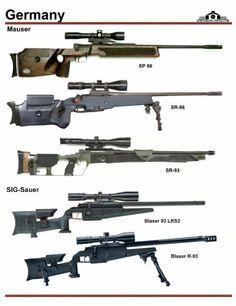 Германия: Mauser SP-66, Mauser SR-86, ...