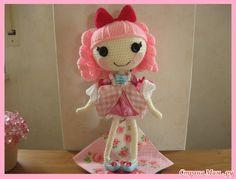 Amigurumi Doll Lalaloopsy Pattern : Pin by melanie mcnicol on crochet dolls lalaloopsy