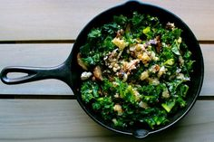 Warm Kale Quinoa Salad :: Replace quinoa with rice or couscous because I really don't like quinoa...