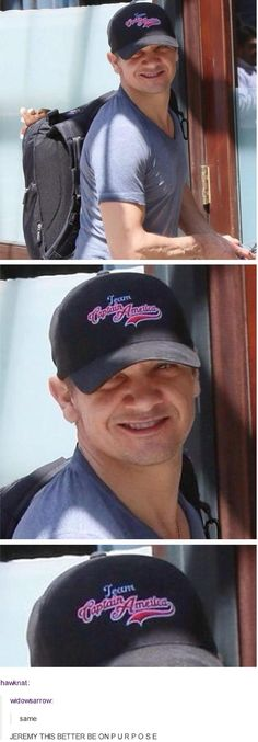 Team....CAP! hahahaha