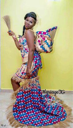 African Wedding Dress, Wedding Dresses, Jesus Reigns, Traditional Wedding Attire, Ankara Dress Styles, African Fashion, Fashion Dresses, Oui, Wedding Things