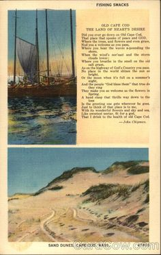 Sand Dunes, Cape Cod - The Land of Heart's Desire