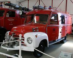 A Opel Blitz fire engine