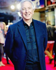 """""""A film, a piece of theatre, a piece of music, or a book can make a difference. It can change the world. Severus Snape Actor, Alan Rickman Severus Snape, Alan Rickman Always, Alan Rickman Movies, Miss U So Much, Piece Of Music, Ares, My Idol, Actors & Actresses"""