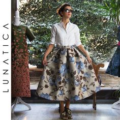 Gonna a pieghe #gonna #pieghe #lunga #milano #atelier #skirt #50s #fifties #rockabilly #vintagestyle