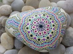 Painted Stones/Painted Rocks/Decorative by TheLakeshoreStore, $25.00