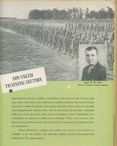Capt. R. R. Hall, Chief of Advanced Training Section