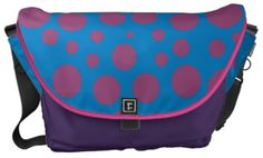Customizable Purple moon bag custom girly messenger bag pretty pink cute purse girly school bag
