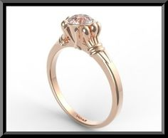 morganite engagement ring - Google Search