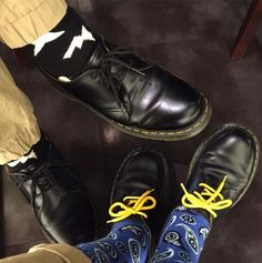 Double Docs: the 1461 shoe, shared by maki.sakata.56.