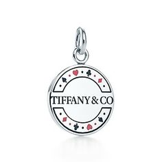 Las Vegas chip Tiffany charm..... Want this! Vegas was where my fiancé proposed :)