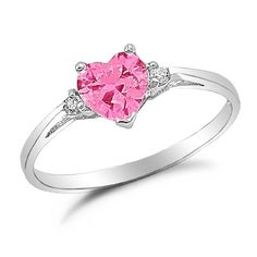 Pics For > Pink Sapphire Engagement Rings