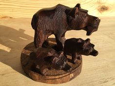 A personal favorite from my Etsy shop https://www.etsy.com/listing/487762708/ironwood-bear-carving