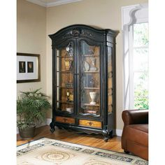 Hooker North Hampton Bonnet Display Cabinet HO-779-50-102
