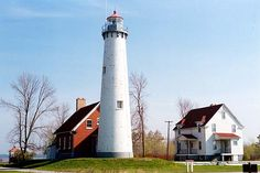 Tawas Point Lighthouse.  I love this one.  I've been to the park and the lighthouse and it's beautiful!