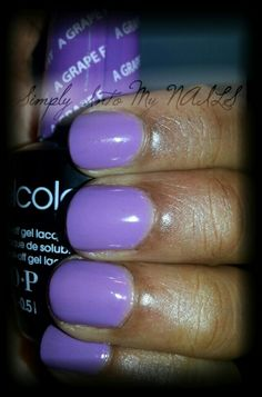 OPI Gelcolor A Grape Fit