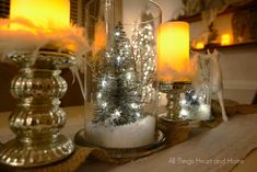 Light up your holiday with easy Christmas Jars...