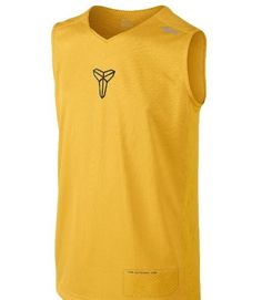 Built to deliver comfort on outdoor courts, the Kobe Dri-FITSleeveless Boys' Basketball Shirt has a huge mesh panel at the backand signature details for outstanding ventilation and a freshlook. Features Dri-FIT fabric to wick away sweat and help keep you dry andcomfortable V-neck with interior taping for comfort and style Mesh panels at sides and back for breathability Contrast color blocking at shoulders and upper back forstyle Flat-seam construction to minimize chafing Screen pri...