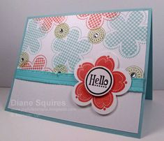 Playful Posy Punch by sunshinedfs - Cards and Paper Crafts at Splitcoaststampers
