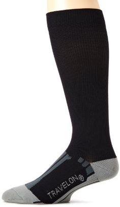 Travelon Luggage Compression Travel Socks, Black/Gray, Medium Travelon http://www.amazon.com/dp/B005AIISEC/ref=cm_sw_r_pi_dp_cFIKtb02NHWR0WH0