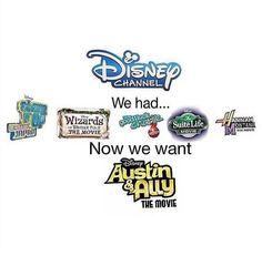 I know right!? Exactly! #AustinAndAlly #AustinAndAllyMovie