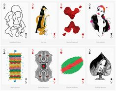 This collection of awesome playing cards was created by a selection of 55 international artists known for their distinct style and techniq...
