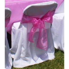 Wedding Chairs, Wedding Reception, Reception Ideas, Wedding Ideas, Plastic Folding Chairs, Outdoor Wedding Decorations, Chair Covers, Special Events, Baby Car Seats