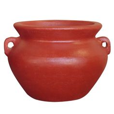14 in. Dia Smooth Handle Red Clay Pot-RCT-310A-R - The Home Depot