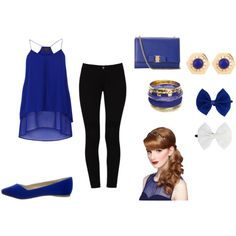"""""""Blue!"""" by morgana17-2 on Polyvore"""