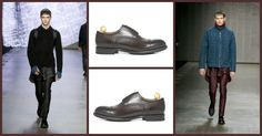 Leather men's shoes: from shoes to jackets, winter wears leather