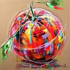 Kind of an Orange by Yuliya Vladkovska