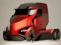 Car Design Sketch, Truck Design, Car Sketch, Design Art, Hybrid Trucks, Antique Cars For Sale, Conceptual Drawing, Futuristic Cars, Abandoned Cars