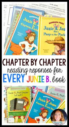 Students love Junie B. Jones novel studies! These activities take your readers through each chapter of each Junie B. Jones book! The reading responses are fun, include many reading skills and strategies, and are easy to implement in your elementary classroom! Use them small group, whole group, with reader's notebooks, and in literature circles. Reading Centers, Reading Activities, Reading Skills, Teaching Reading, Reading Groups, Guided Reading, Reading Club, 3rd Grade Reading, Third Grade