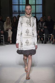 Giambattista Valli   Haute Couture - Spring 2017   Look 6