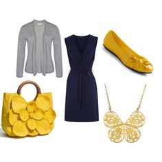 Ok, now I am obsessed with polyvore.com - I can design my own outfits!!