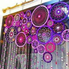 17 Really Amazing DIY Window Decor Ideas You Can .- 17 wirklich erstaunliche DIY Fenster Dekor Ideen, die Sie kostenlos tun können – Dekoration De 17 really amazing DIY window decor ideas you can do for free - Los Dreamcatchers, Craft Projects, Projects To Try, Home Craft Ideas, Weaving Projects, Diy And Crafts, Arts And Crafts, Diy Y Manualidades, Deco Boheme