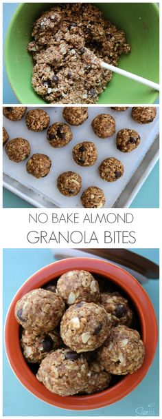 No Bake Almond Grano