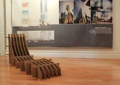 A Look at Mod Cardboard Chairs Designed and Built by Teens