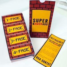 [DIY] Jogo Super Namorado – Para entregar o presente de forma mais criativa!