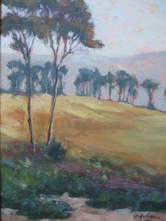 Kevin Yuen Plein Air California Eucalyptus Impressionism Landscape Oil Painting   eBay