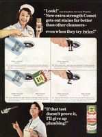 Comet Cleanser 1966 Ad Picture